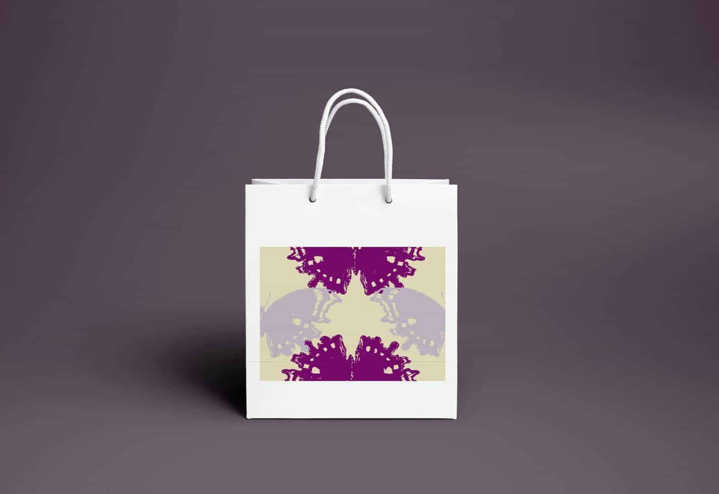 Shopping Bag PSD MockUp 1000px