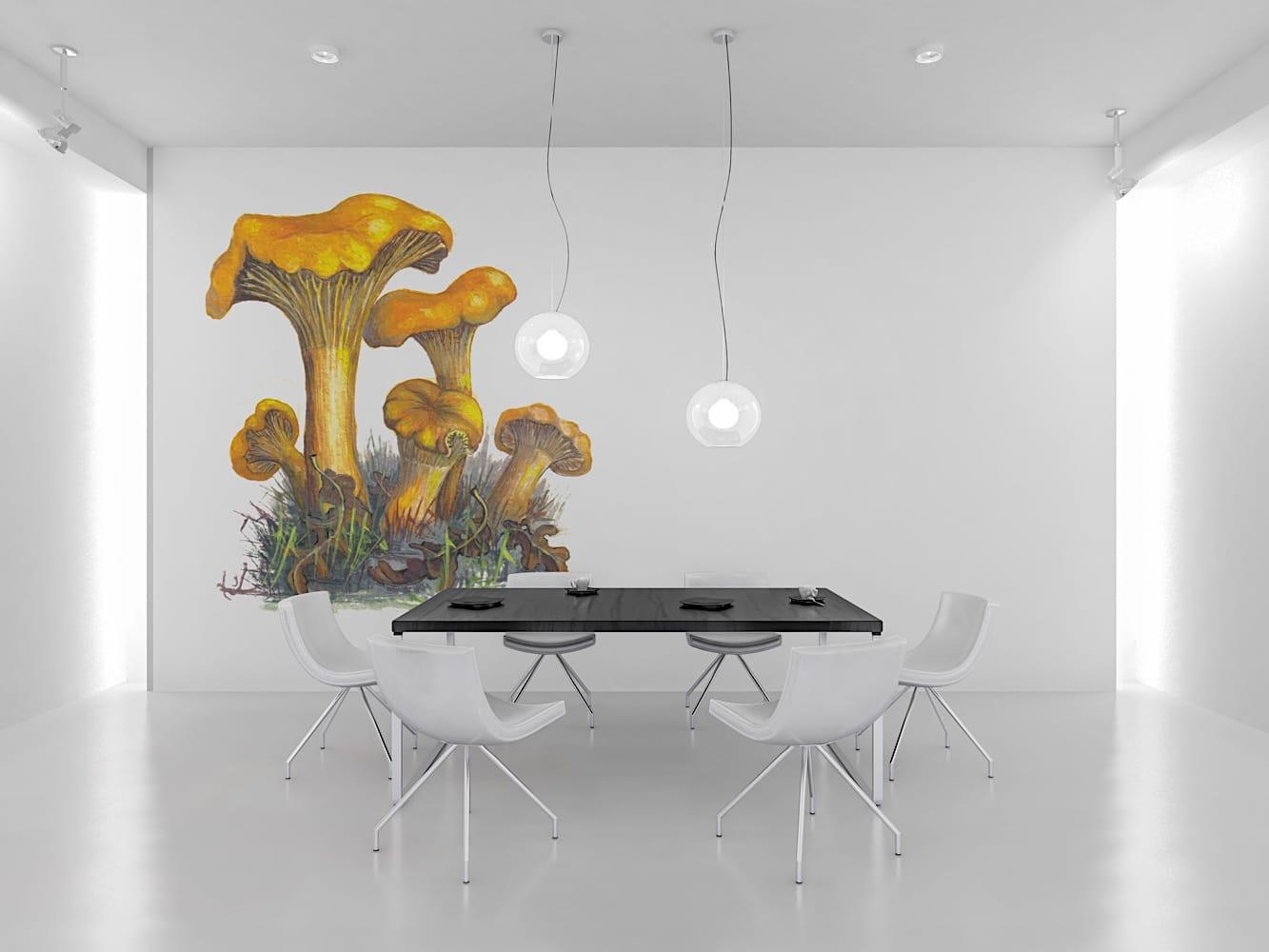 Wall mushroom 1000px6