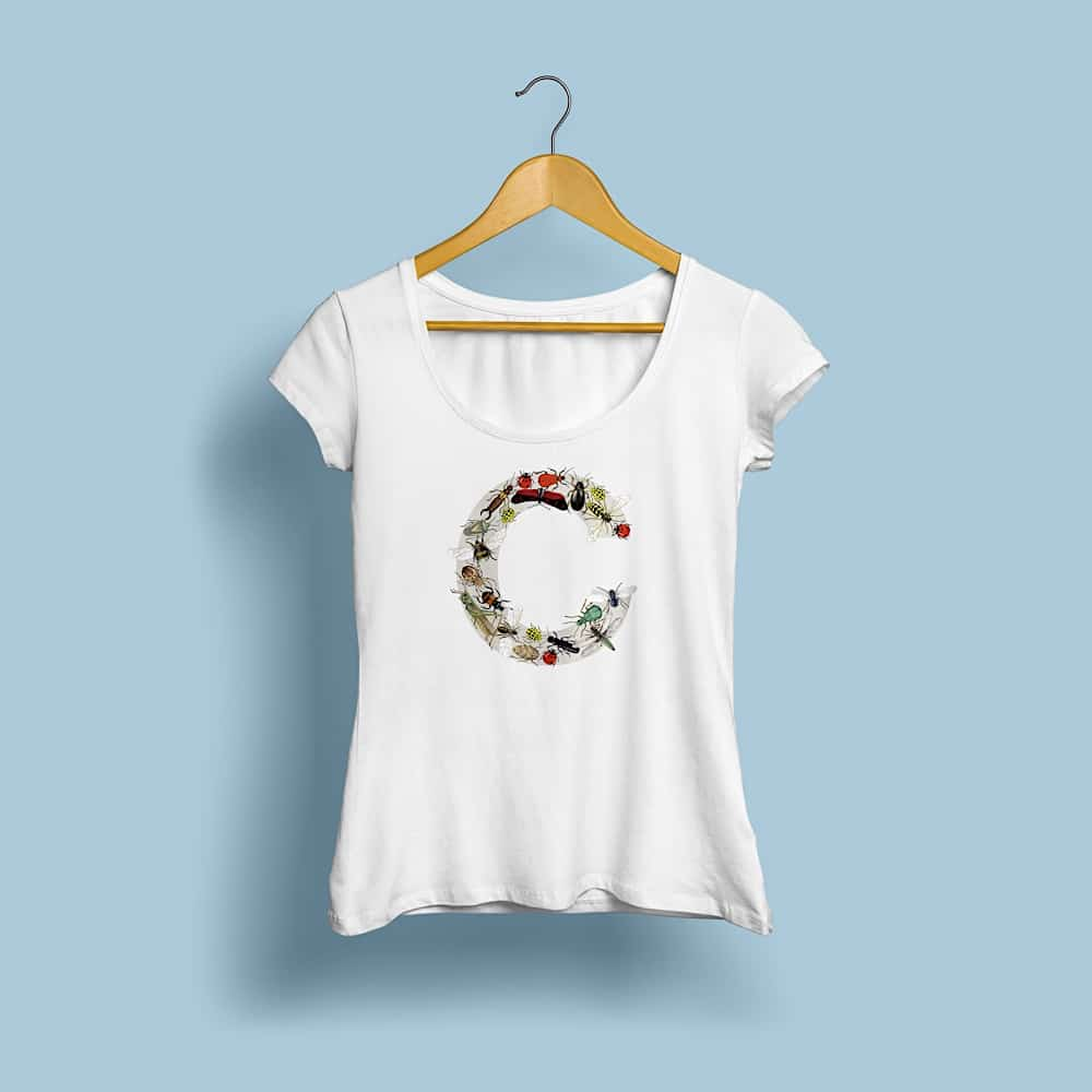 Woman T shirt MockUp Front 1000px13