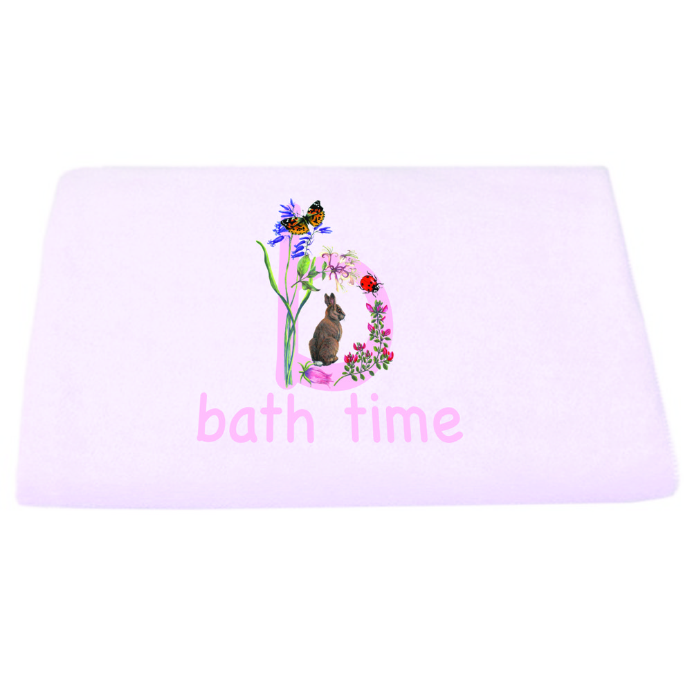 pink bath time