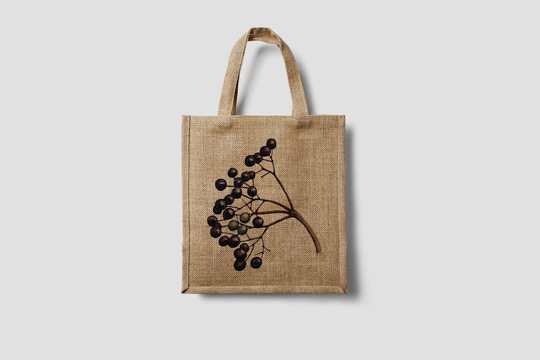 Elder Fruit Eco Bag