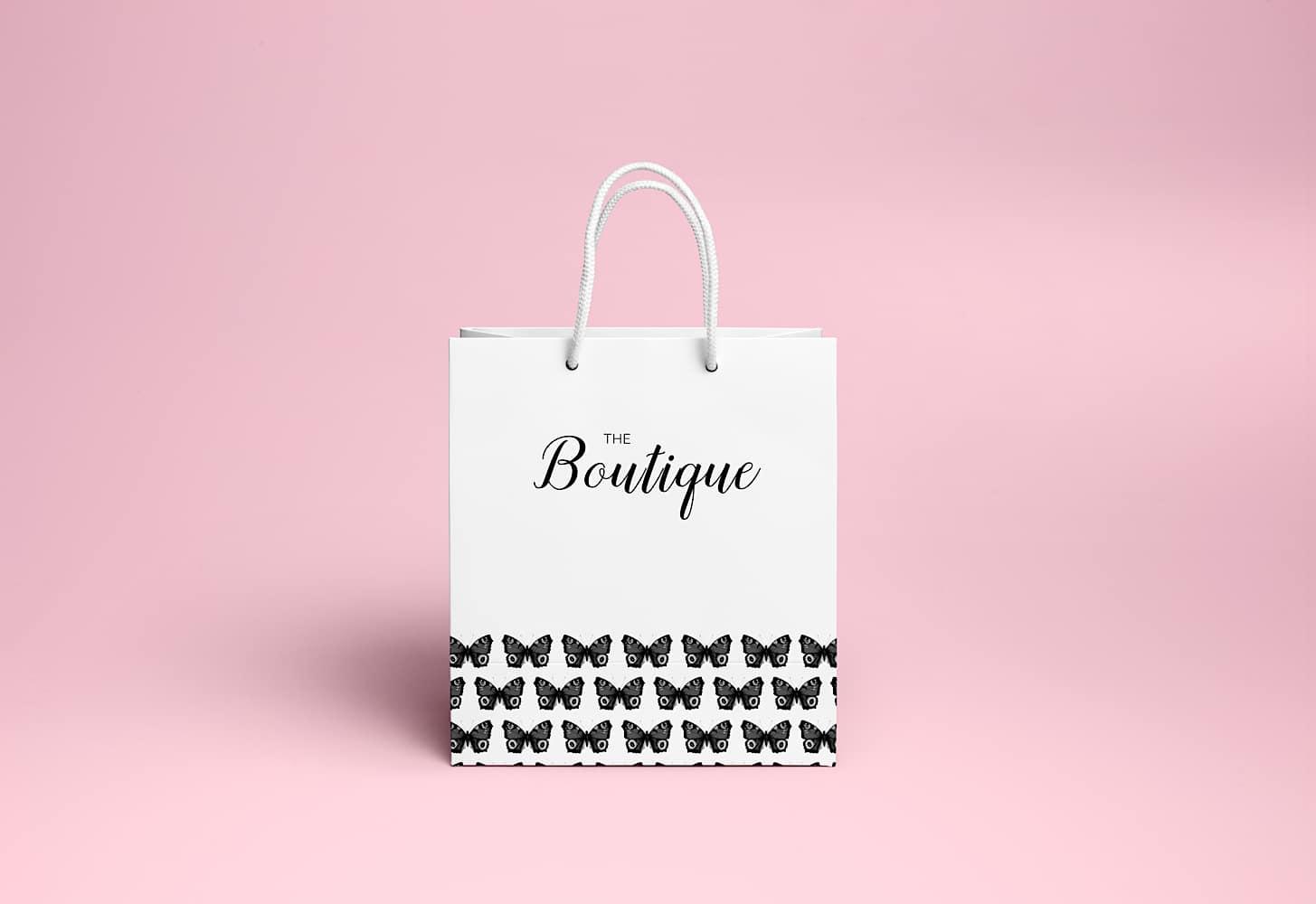 Shopping Bag Butterflies 01