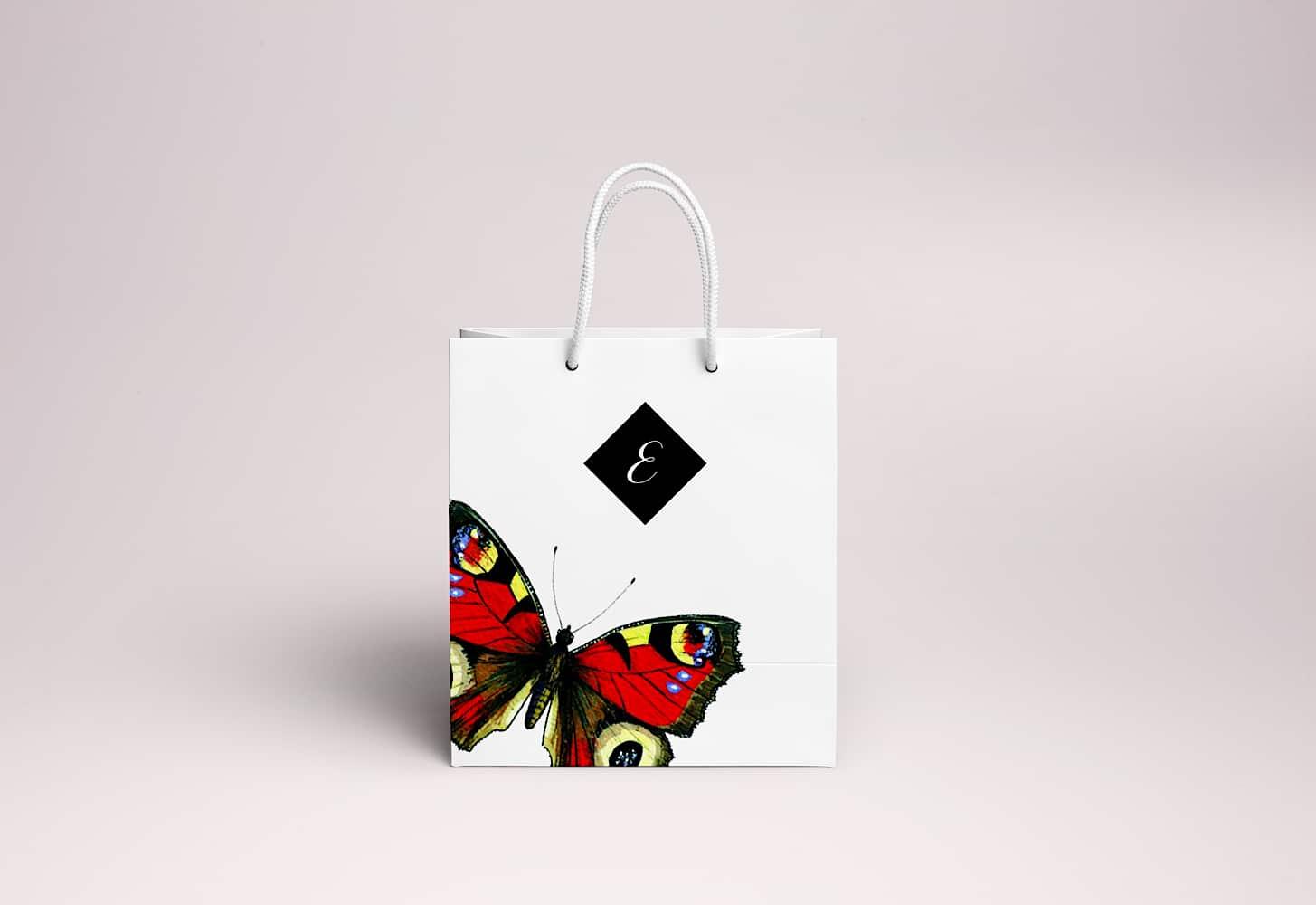 Shopping Bag Butterflies 02 1000px5
