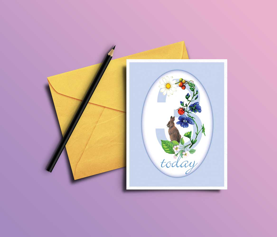 greeting-card illustration for product design